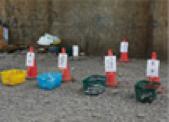 ゴミ回収スペース
