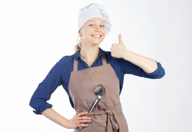 笑う料理人