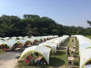 統一されたテント