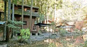 川井キャンプ場でバーベキュー
