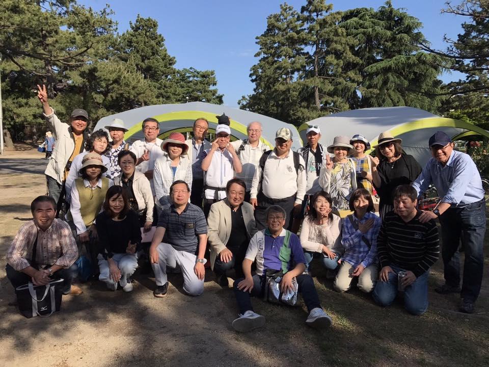 富士公園でオシャレにバーベキュー