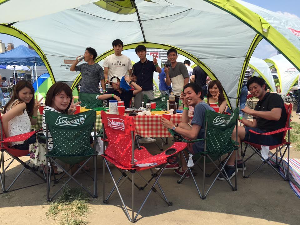 大島小松川公園で手軽にレンタルバーベキュー